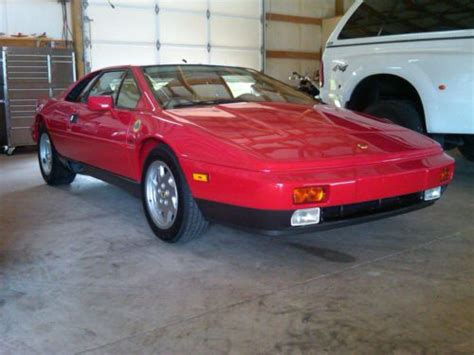 how can i learn about cars 1988 lotus esprit user handbook purchase used 1988 lotus esprit turbo coupe 2 door 2 2l in liberty tennessee united states