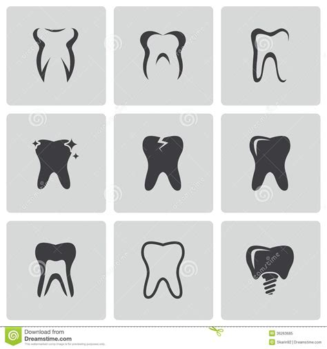 vector royalty free stock images image 2183529 vector black teeth icons set royalty free stock photo image 36263685