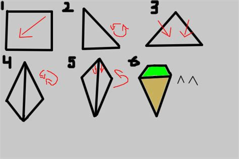 How To Make An Origami Cone - origami cone by wolfhey on deviantart