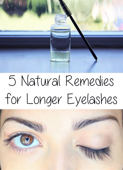 longer eyelashes 5 remedies for longer eyelashes