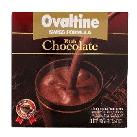 Ovaltine Swiss Rich Chocolate ovaltine swiss ready mixed malt beverage