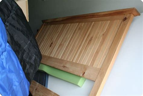 beadboard headboard diy bead board headboard for the home pinterest
