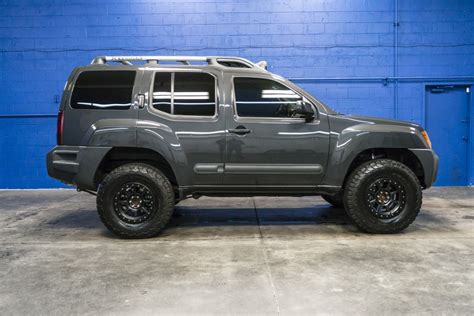 nissan xterra lifted road used lifted 2014 nissan xterra pro 4x 4x4 suv for sale 35884