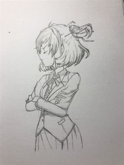 Sketches Reddit by So I Made A Sketch Of Best Ddlc