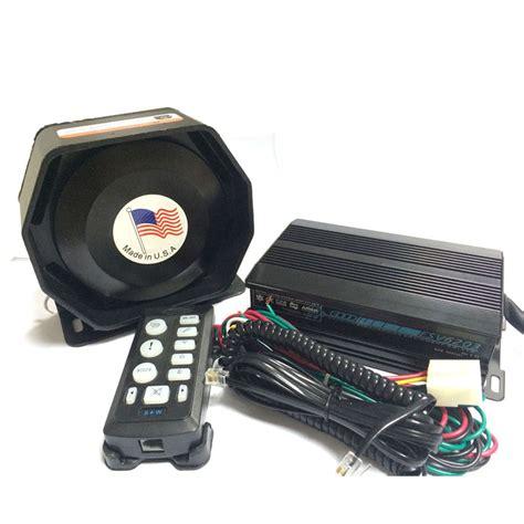 Promo Gila Slim Speaker 200w For Horn Sirine Touring Konvoi P Ygy2310 aliexpress buy 200w car alarm siren electronic horn esv6203 host ultra slim metal speaker