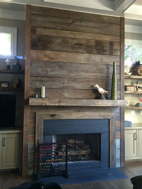 Reclaimed Fireplace Surround by Reclaimed Wood Fireplaces In Atlanta Rustic Family