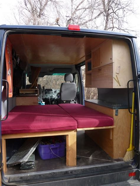 van with bed 26 best images about sleeping platform on pinterest