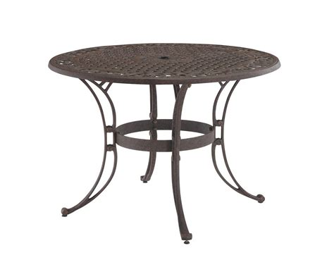 home styles biscayne bronze outdoor dining table