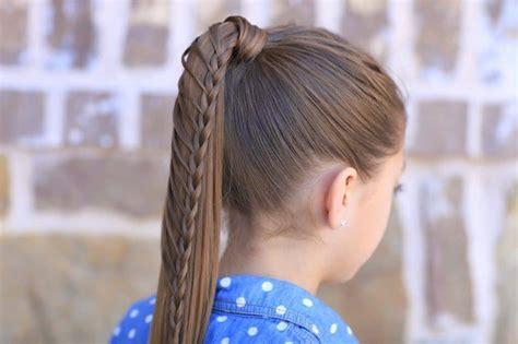 cutest braided ponytail hairstyles  kids  update