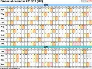 financial year calendar template fiscal year planner 2016 2017 printable calendar