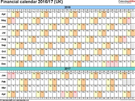 printable year planner 2016 uk fiscal year planner 2016 2017 printable calendar