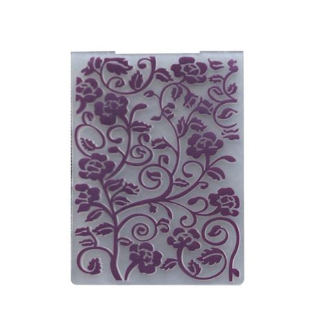 new plastic embossing folder template diy scrapbook paper