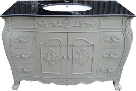 bespoke size sink vanity unit with solid marble top