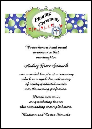 nursing graduation card template 219 best wordings sayings verses for invitations
