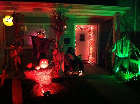 halloween decorations made at home attractive outdoor halloween decorations ideas the