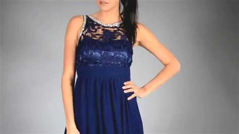 Heva Dress lola dress maxi navy blue 7815 2