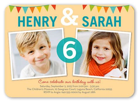 twins birthday invitation free templates 4k wallpapers