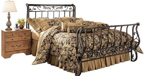 Iron Sleigh Bed Frames Furniture Bittersweet King Metal Sleigh Bed Products From Adulthood Pinterest