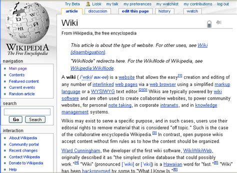 how to create a wiki template exle of a wiki search engine at search