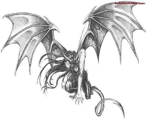 demon dragon tattoo designs images designs