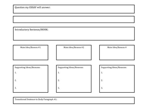 thinking maps template tree map template search school ideas