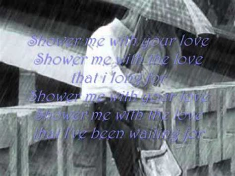 shower me with your lyrics surface