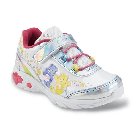 toddler light up shoes greetings toddler s care bears white pink