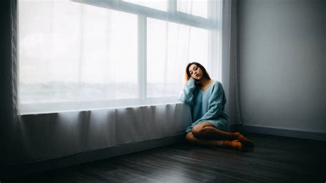 sad girl sitting  window   hd wallpapers hd