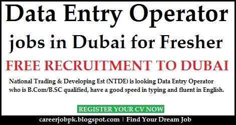 In Abu Dhabi For Mba Freshers by Data Entry In Dubai For Freshers