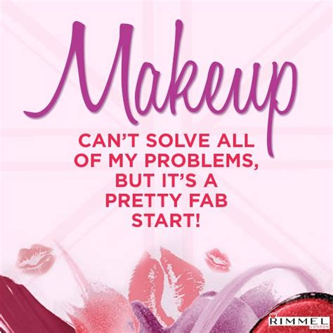 Fab Site Start Londoncom by Rimmel Words To Live By Quot Makeup Can T Solve All