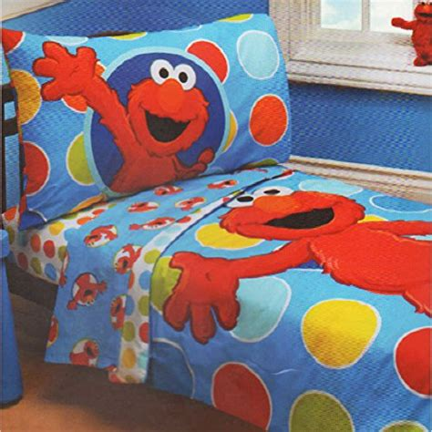 a fun and comforting sesame street kids bedding set