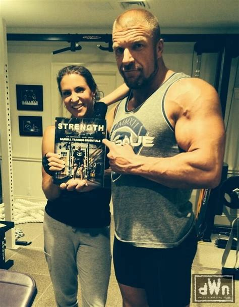 stephanie mcmahon asks triple h to sign the annulment new photo of triple h and stephanie mcmahon after a