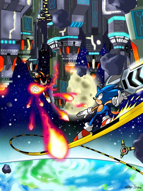final rush sonic adventure  battle fan art