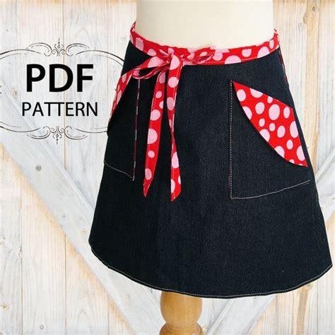 skirt pattern pdf girls reversible skirt sewing pattern pdf childrens