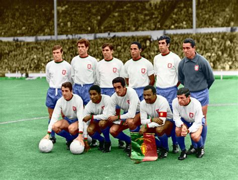 World Cup Portugal portugal team at the world cup in 1966 world cup s