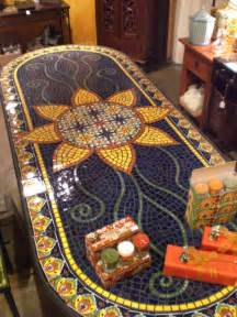 Mosaic Kitchen Table Dining Table Furniture Mosaic Tile Dining Tables
