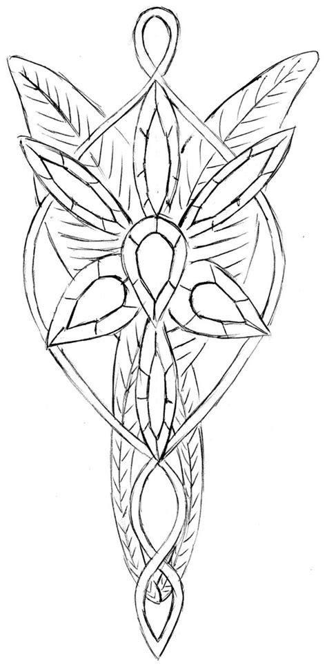 arwen s necklace elessar by stairwaytoelle on deviantart