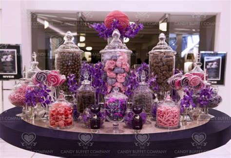 purple pink candy buffet carrie rosnick i like this