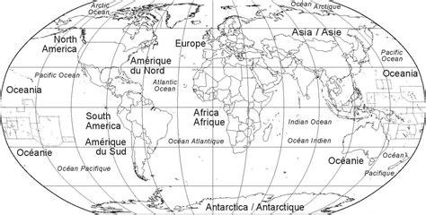 monde möbel carte du monde vierge avec pays