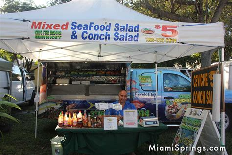 Miami Springs Garage Sales by Fresh Fish At The Miami Springs Farmers Market