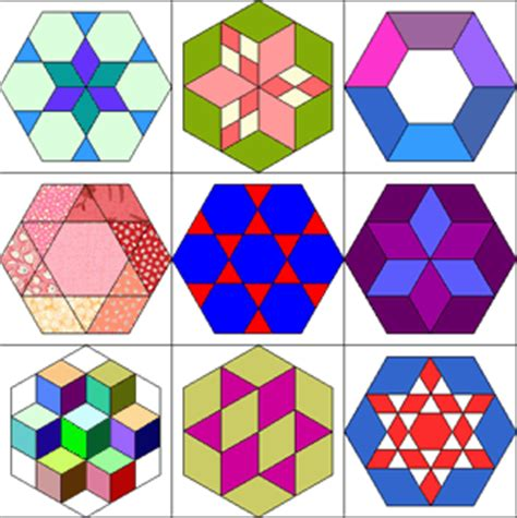 hexagon templates for quilting quilt hexagon pattern my quilt pattern