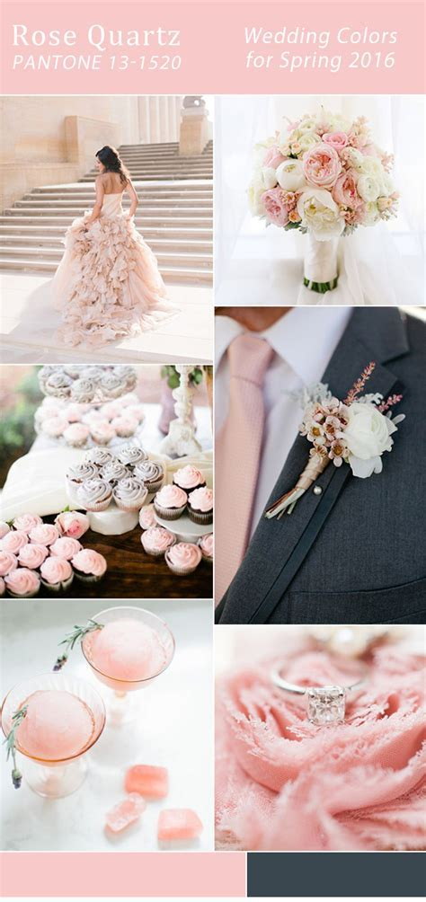 Top 10 Wedding Colors For Spring 2016 Trends From Pantone