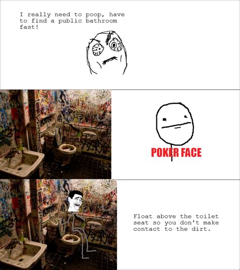 i need to poop but no bathroom have to find bathroom yao ming face rage comics toilet funny pictures