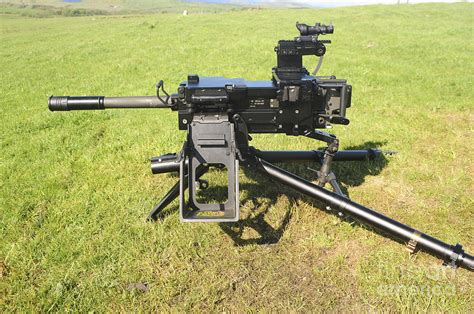 Army Home Decor An Mk19 40mm Machine Gun Photograph By Andrew Chittock