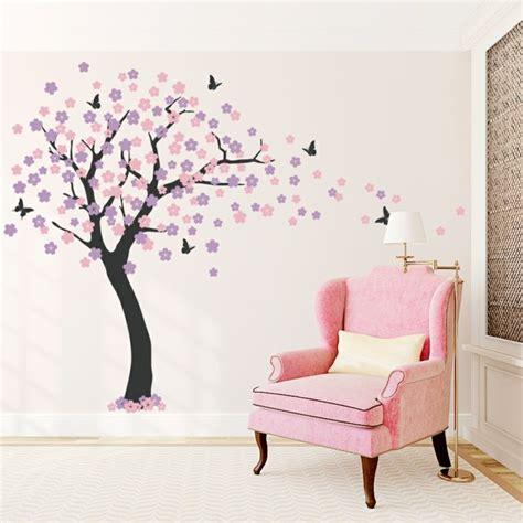 Wandtattoo Baum Babyzimmer by 35 Wandtattoos Baum Die Einen Hauch Natur Nach Hause Bringen