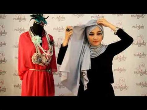tutorial turban ninja instan tutorial hijab tni turban ninja instant grey ala