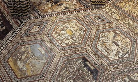 pavimenti duomo siena il pavimento duomo di siena si scopre per il giubileo