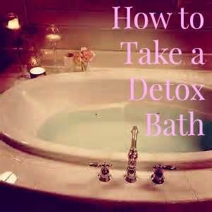 Best Detox Bath For Children by How To Take A Detox Bath Home Remedies