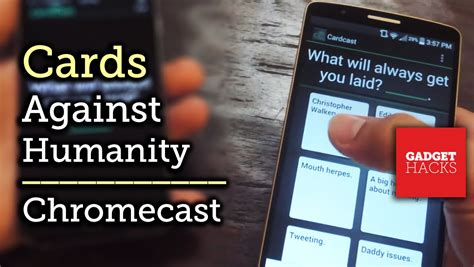 cards against humanity android cardcast cards against humanity like gameplay for chromecast android ios how to