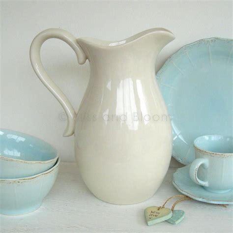 Pitcher Vase by White Jug Pitcher Vase Bliss And Bloom Ltd